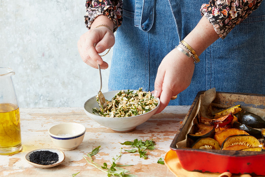 cooking & eating sustainably with megan davies