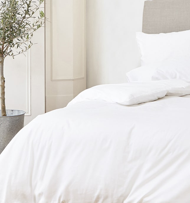 sleep on a cloud of organic cotton comfort