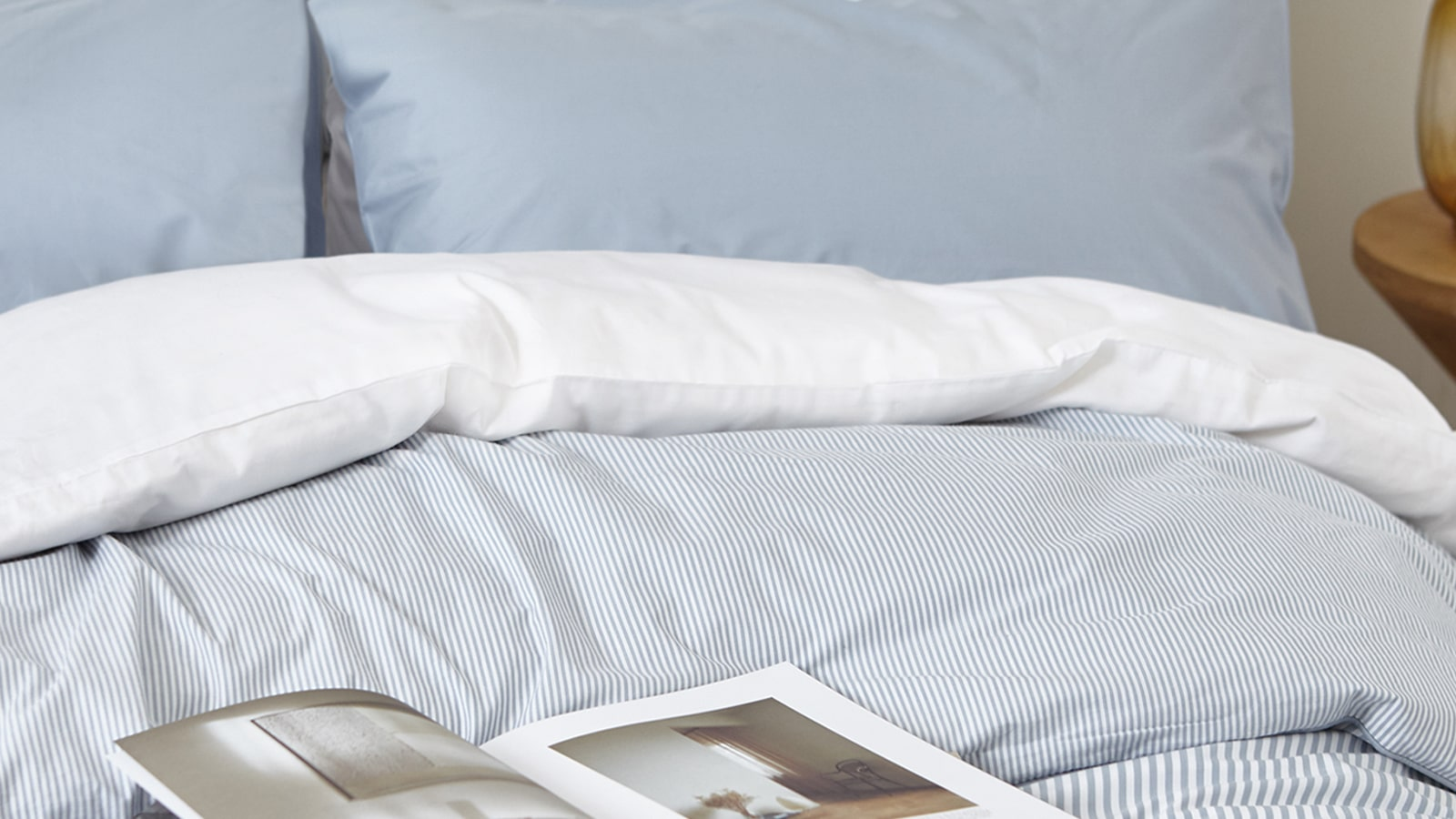 to a better bedtime, with impossibly cosy bed linen
