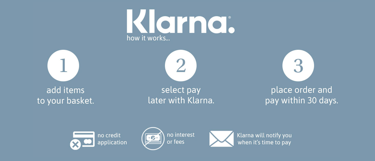 Pay Later with Klarna and Dip & Doze