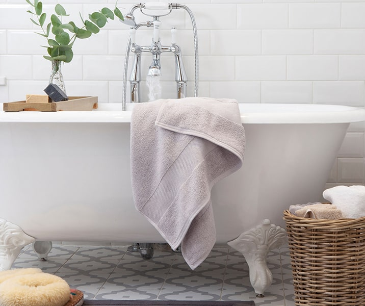 Lovingly made bath linen