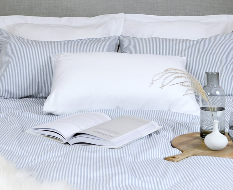 Beautifully simple bed linen, designed for your life